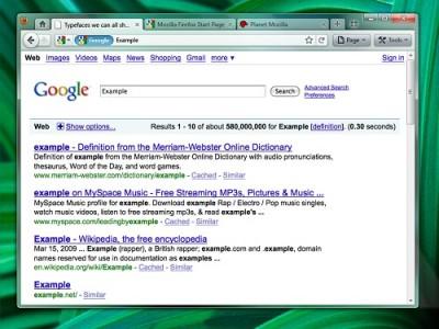 Firefox Mockup 4